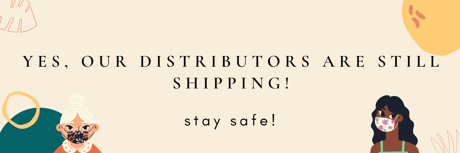 yes, our distributors are still shipping! (1)